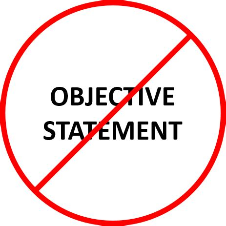 Best job objectives for resume